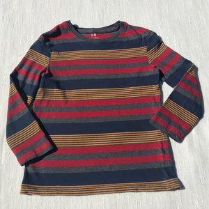 H&M Basic Striped Long Sleeve Size 4-6 Y